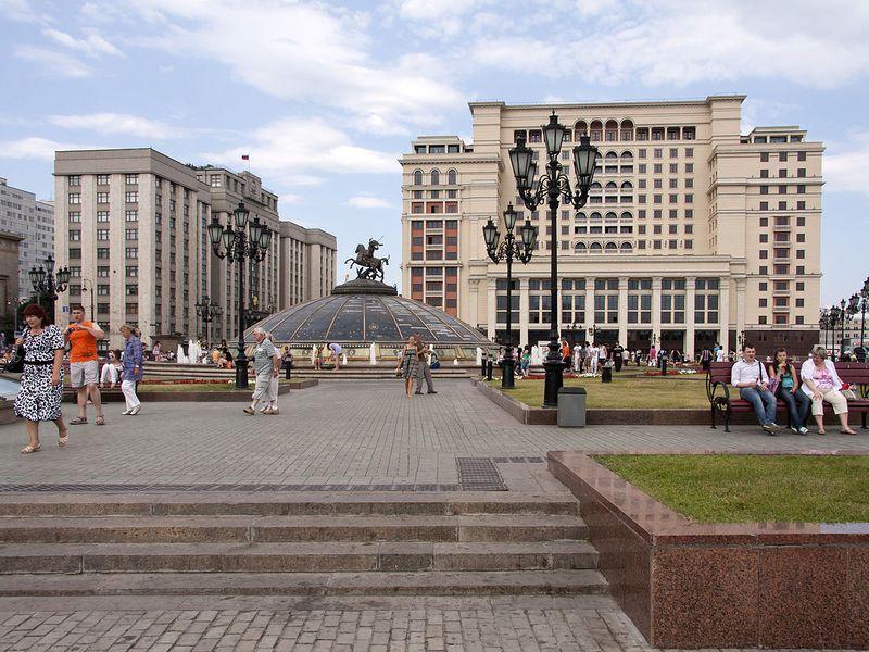 Классическая обзорная экскурсия по Москве на автобусе