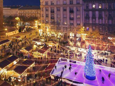 Рождественский Будапешт и легендарные руин-бары