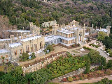 Курортная Алупка, Ливадийский дворец и замок Ласточкино гнездо