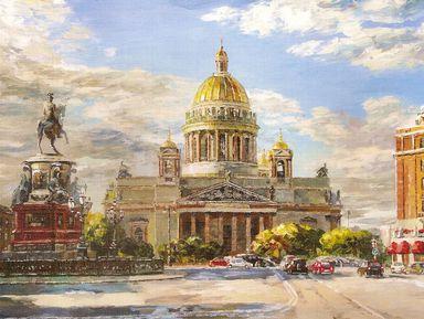 """Экскурсия """"Три площади петербургских"""": фото"""
