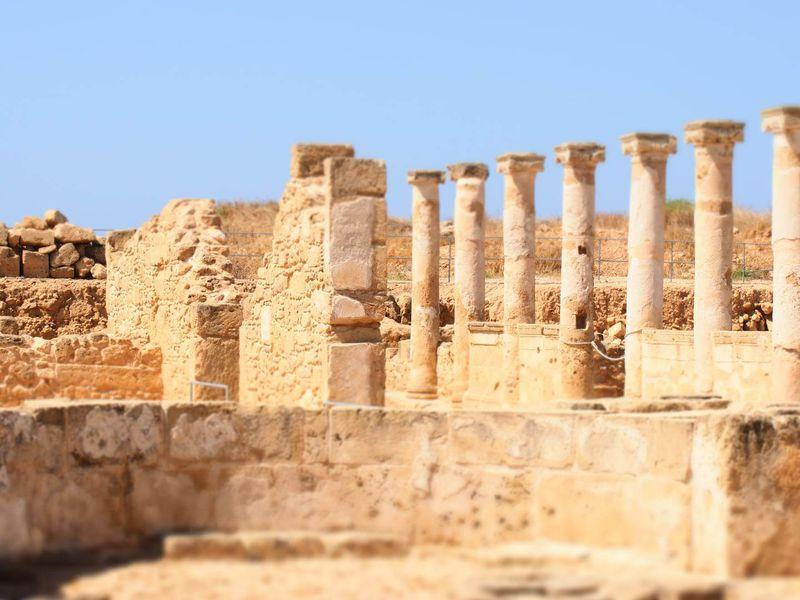 Южный берег Кипра: античная история и мифы