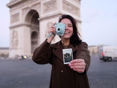 Сохранить Париж всердце— иснимках наполароид
