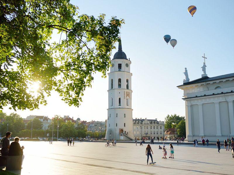 Экскурсия Влюбиться в Вильнюс за три часа!