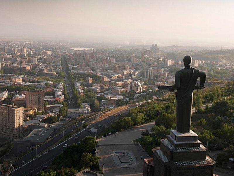 Из Уфы в Ереван