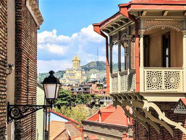 Тбилиси во всей красе и самобытности