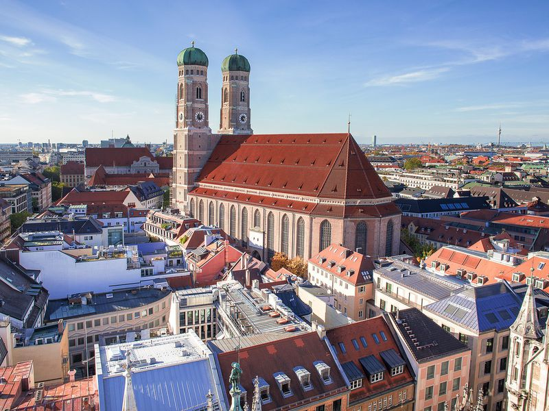 Фото: Первое знакомство с Мюнхеном