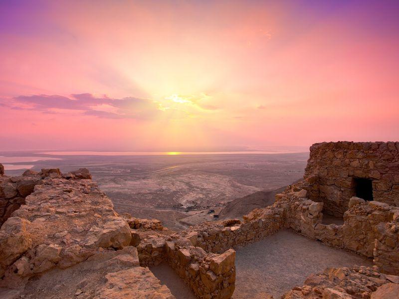 Экскурсия Иродион и Масада за один день