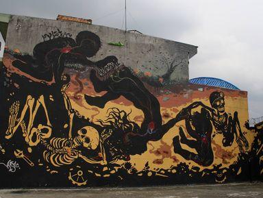 Уличное искусство Боготы