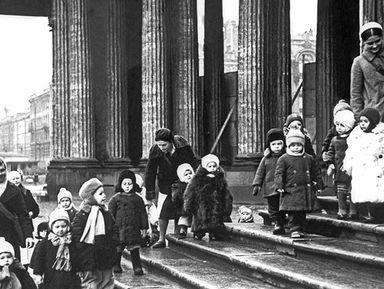 """Экскурсия """"Дети и детство в блокадном Ленинграде"""": фото"""