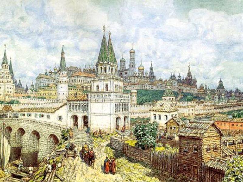 Экскурсия Историческая прогулка по Москве от древности до наших дней