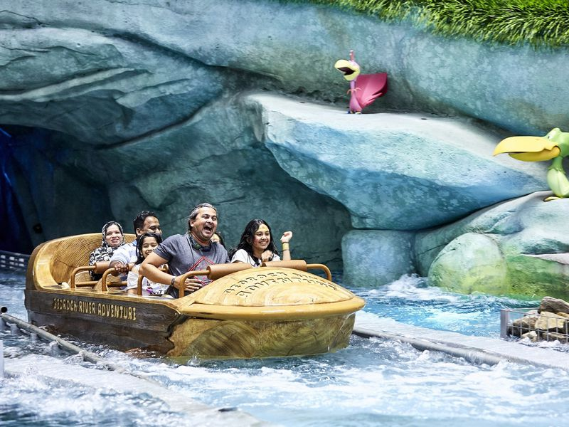 Экскурсия Тематический парк «Warner Bros. World»— странсфером изДубая