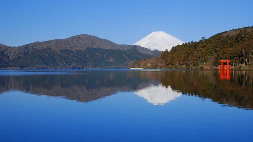 Путешествие в национальный парк Фудзи-Хаконе-Идзу