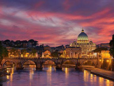 Очарование вечернего Рима