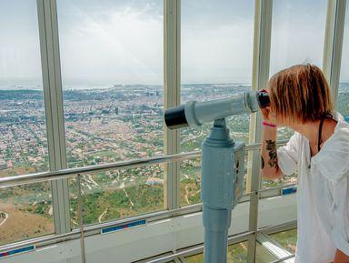 Экскурсия на телебашню Кольсерола и Тибидабо: Барселона свысока