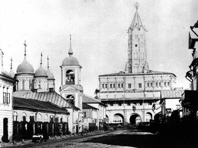 Экскурсия История Москвы от XII до XXI века на примере одной улицы