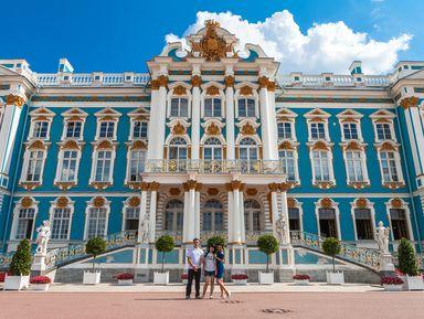 Фото-экскурсия «Имперская роскошь в Царском Селе»
