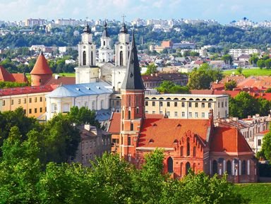 Вильнюс, Тракай, Каунас — три столицы