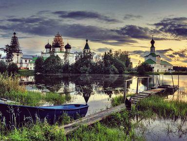 ИзАрхангельска вАнтониево-Сийский монастырь