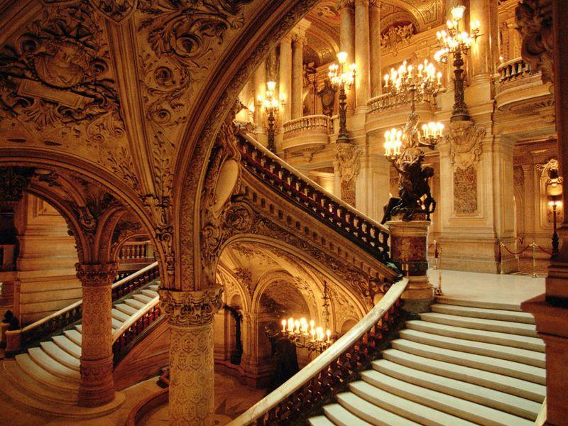 Экскурсия Опера Гарнье. Загадочная и великолепная