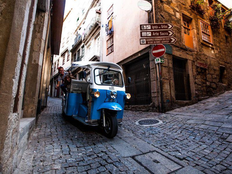 Знакомство с Лиссабоном на тук-туке