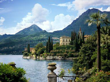 Озеро Комо и вилла Бальбьянелло