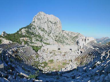 Живописное путешествие в древний город Термессос