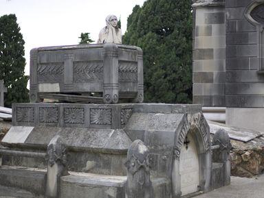 Город Мёртвых. Кладбище Монтжуик