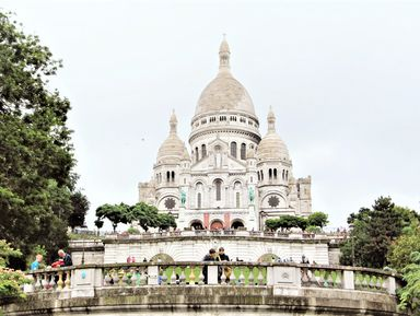 Экскурсия в Париже: Прогулка по Монмартру с посещением базилики Сакре-Кёр
