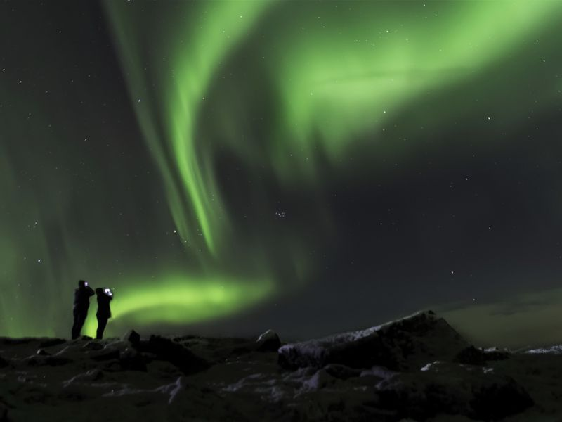Фото-путешествие в поисках северного сияния!