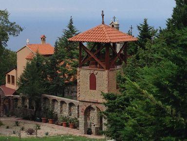 Православные святыни Черногории