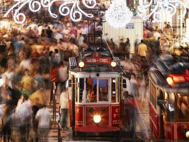 Стамбул — это Истикляль!