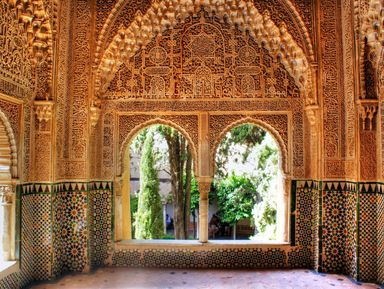 Лабиринты Альгамбры и садов Хенералифе