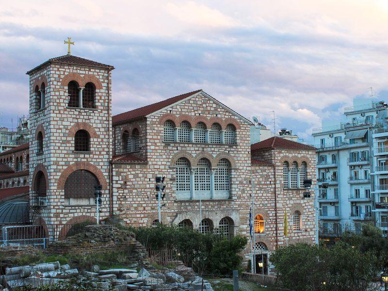 Экскурсия Православные святыни Салоников
