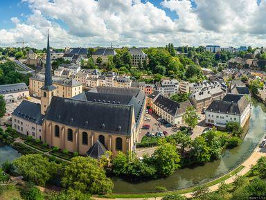 Люксембург— малый город