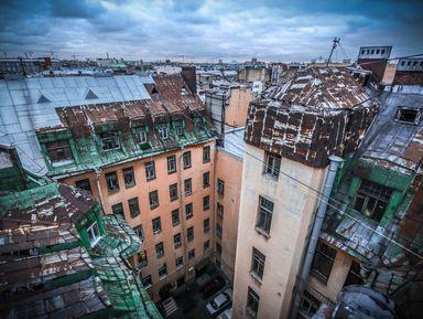 Доходные дома Петербурга: побывать на крышах и внутри