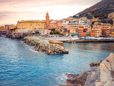 Сердце исторической Генуи