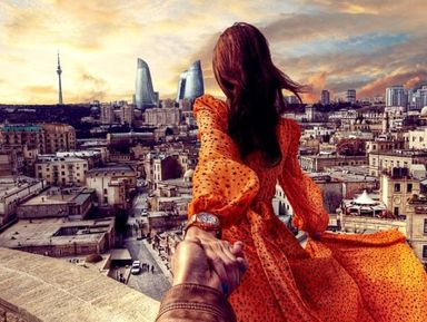 Весь Баку и «огненный» Апшерон