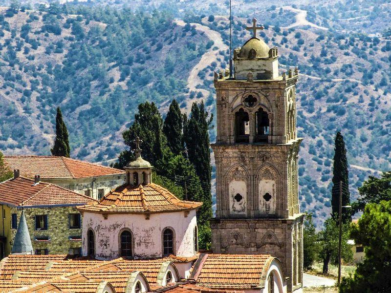 Путешествие по горным деревням Кипра