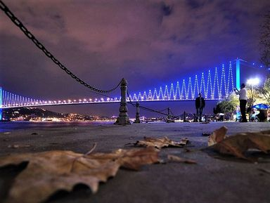 Волшебство вечернего Стамбула