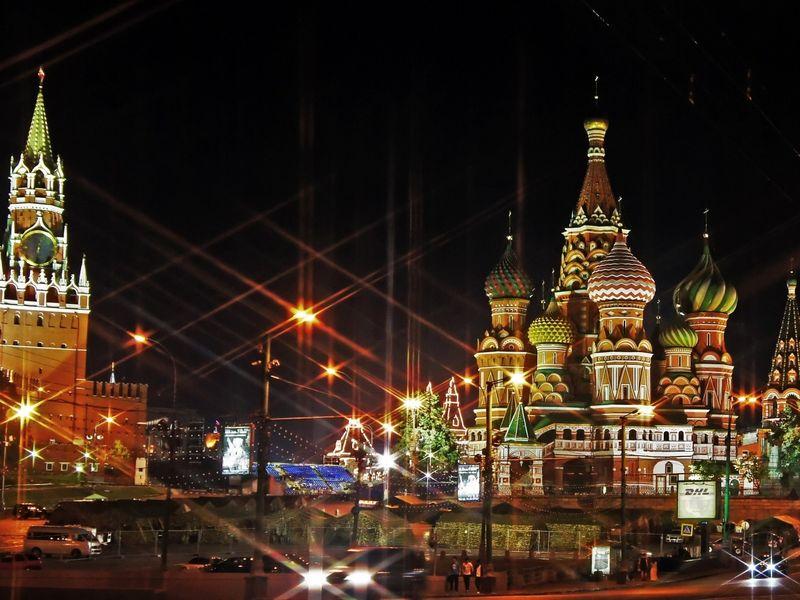 Экскурсия Огни Москвы: классическая обзорная