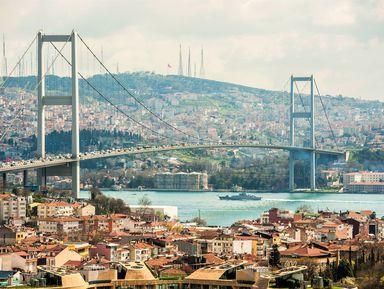 Большое путешествие по Стамбулу