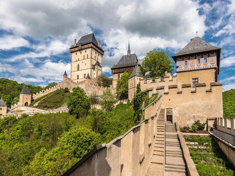 Экскурсия Средневековые замки Карлштейн и Конопиште