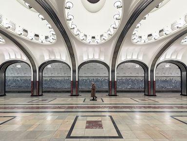 «Дворцы для народа»: новый взгляд намосковское метро