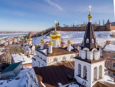 По Нижнему Новгороду на автомобиле!