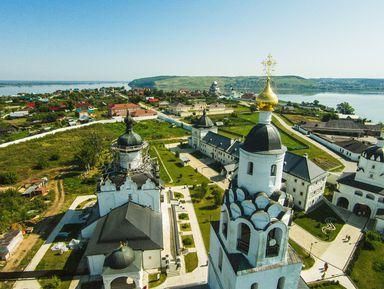 Центр Казани, древний Кремль исредневековый Свияжск— всё заодин день