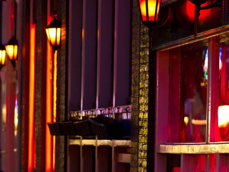 Экскурсия Квартал красных фонарей после захода солнца