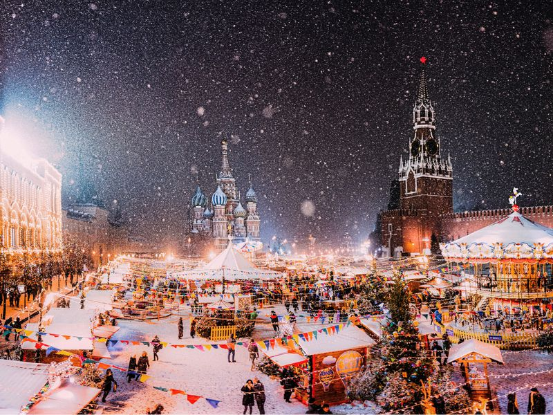 Экскурсия С Новым годом, Москва!