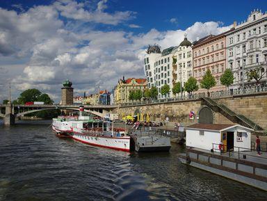 Малоизвестная Прага вдоль берегов Влтавы