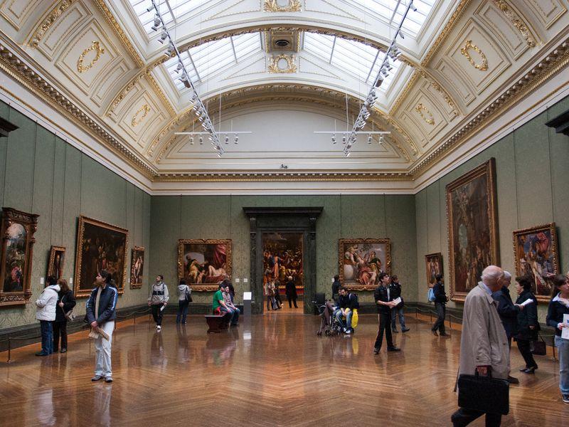 Экскурсия Судьба и сокровища Национальной галереи