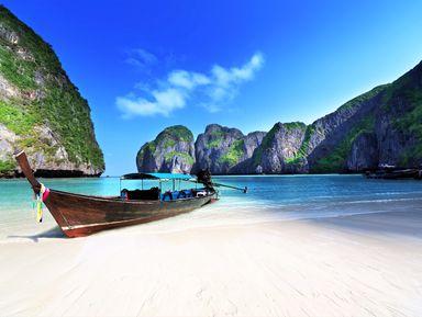 Острова Пхи-Пхи и Бамбу — рай в квадрате!